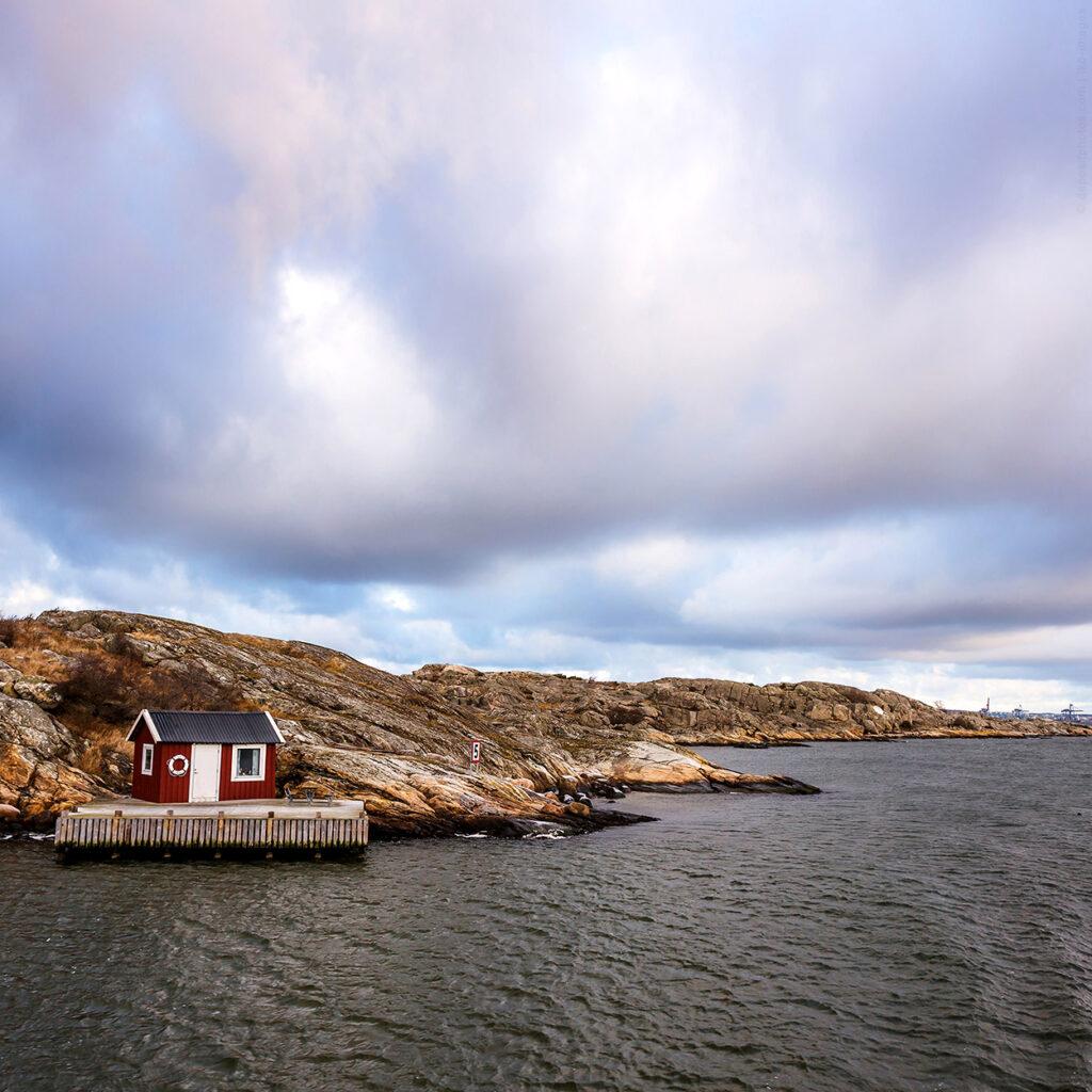 Insel bei Göteborg